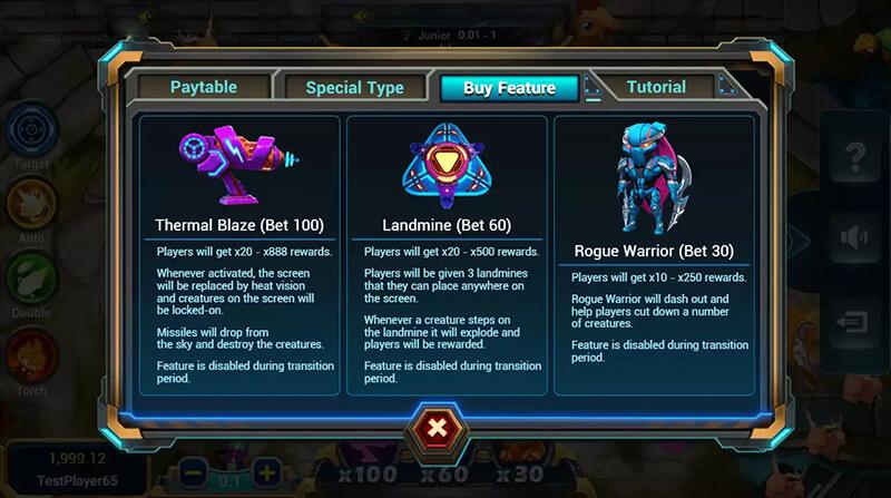 Người chơi có thể lựa chọn mua các kỹ năng khác nhau